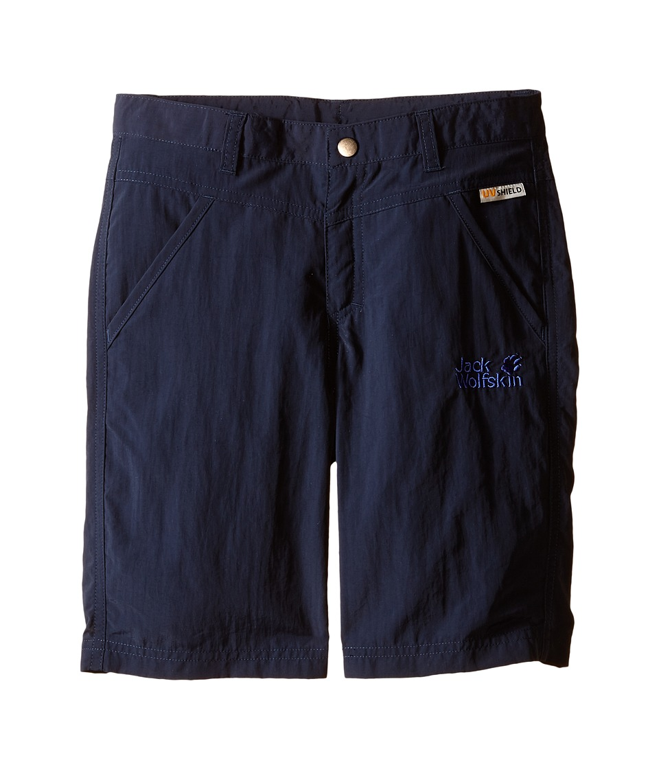 Jack Wolfskin Kids - Sun Shorts (Little Kid/Big Kid) (Night Blue) Girl's Shorts