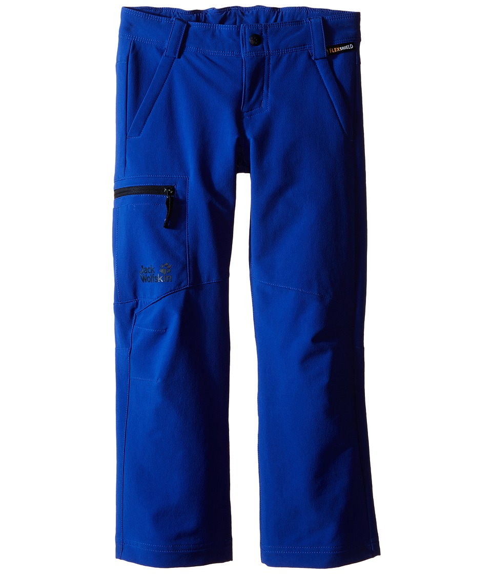 Jack Wolfskin Kids - Activate II Softshell Pants (Little Kid/Big Kid) (Active Blue) Boy's Casual Pants