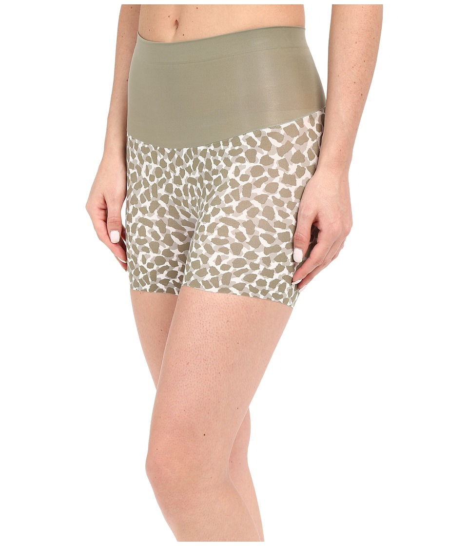 Spanx - Shape My Day Girlshorts (Olivine Giraffe) Women's Underwear