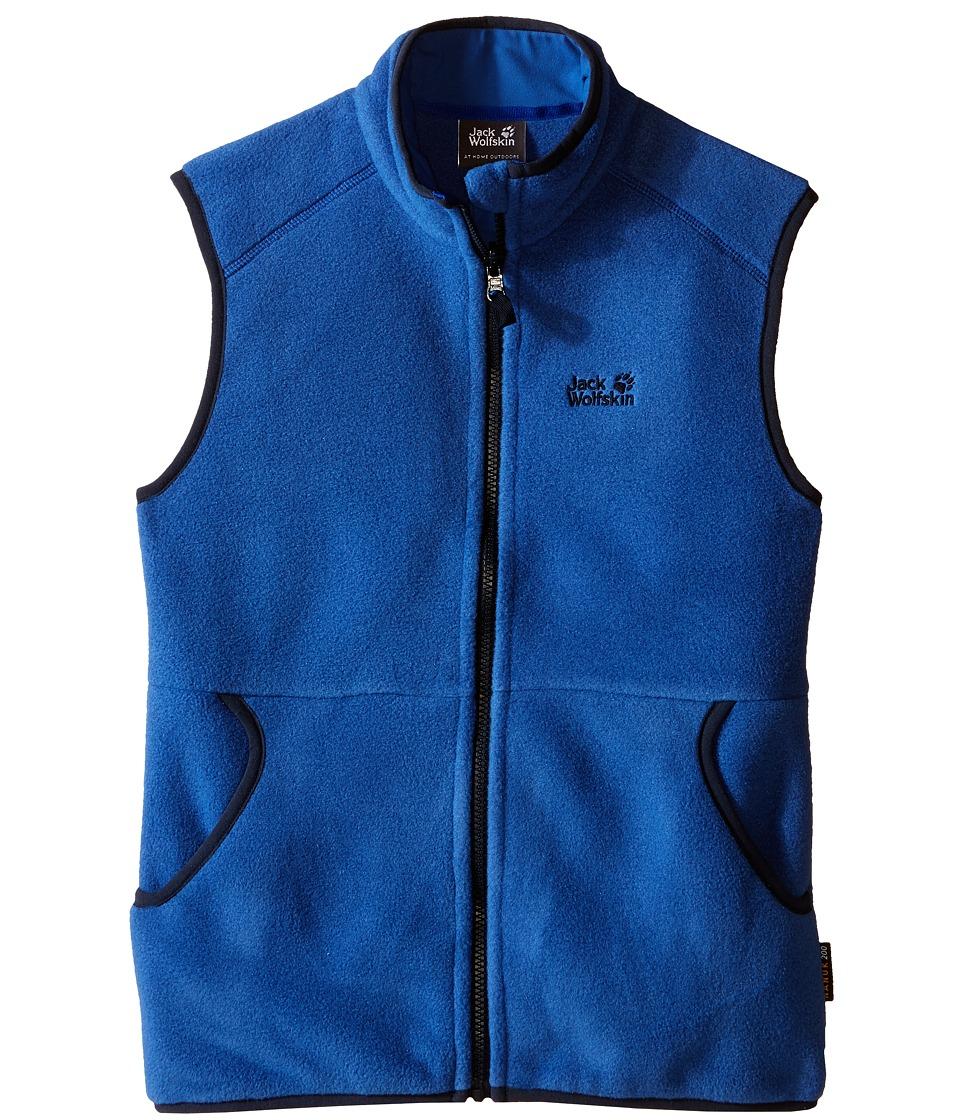 Jack Wolfskin Kids - Hudsonay Vest (Little Kid/Big Kid) (Peacock Blue) Boy's Vest