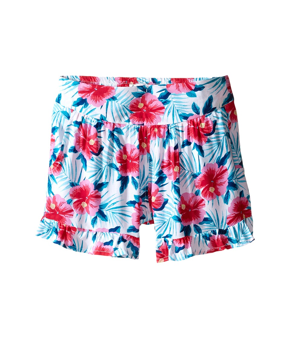 Splendid Littles - All Over Print Ruffle Shorts (Big Kids) (Print) Girl's Shorts