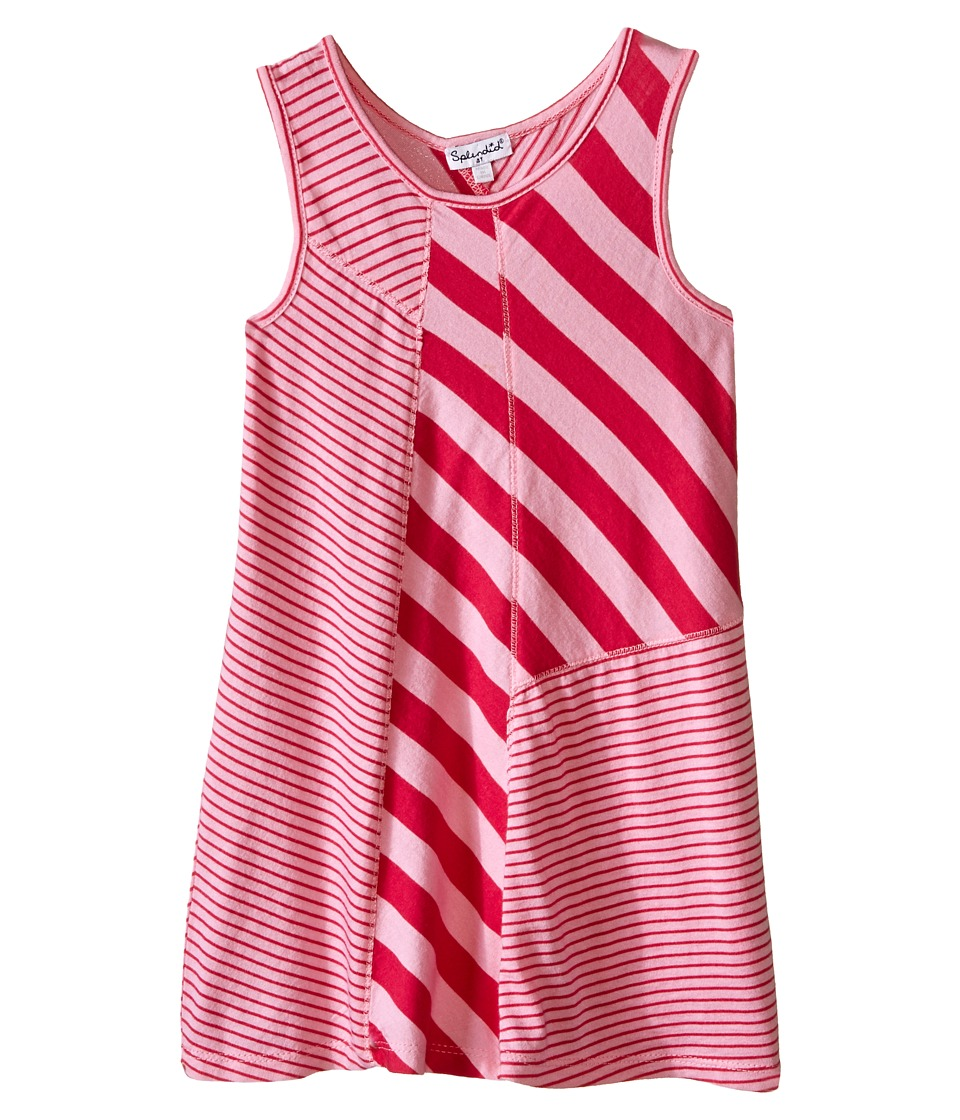 Splendid Littles - Multi Stripe Yarn Dye Dress (Toddler) (Light Pink) Girl's Dress