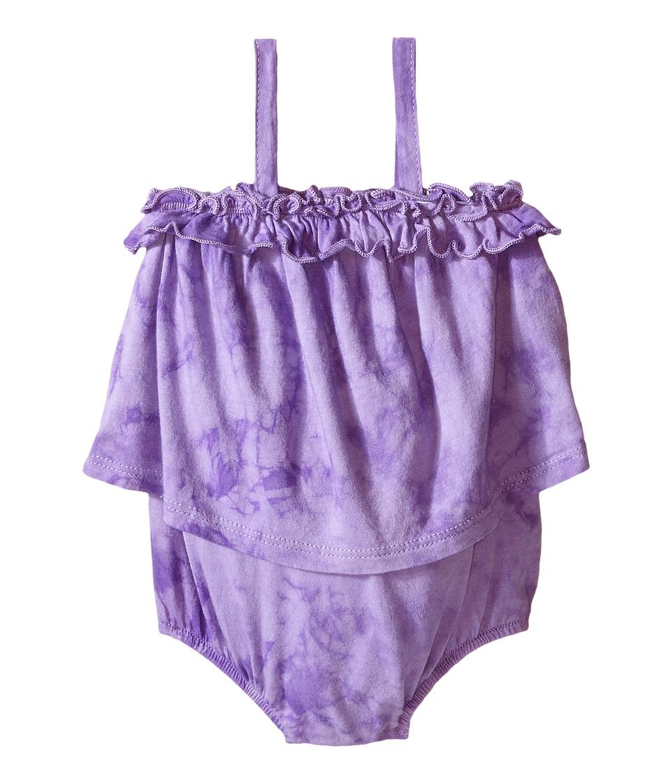 Splendid Littles - Tie-Dye Romper (Infant) (Lilac) Girl