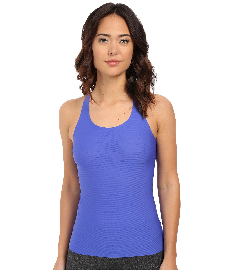 Spanx - Perforated Racerback Tank Top (Royal Blue) Women's Sleeveless