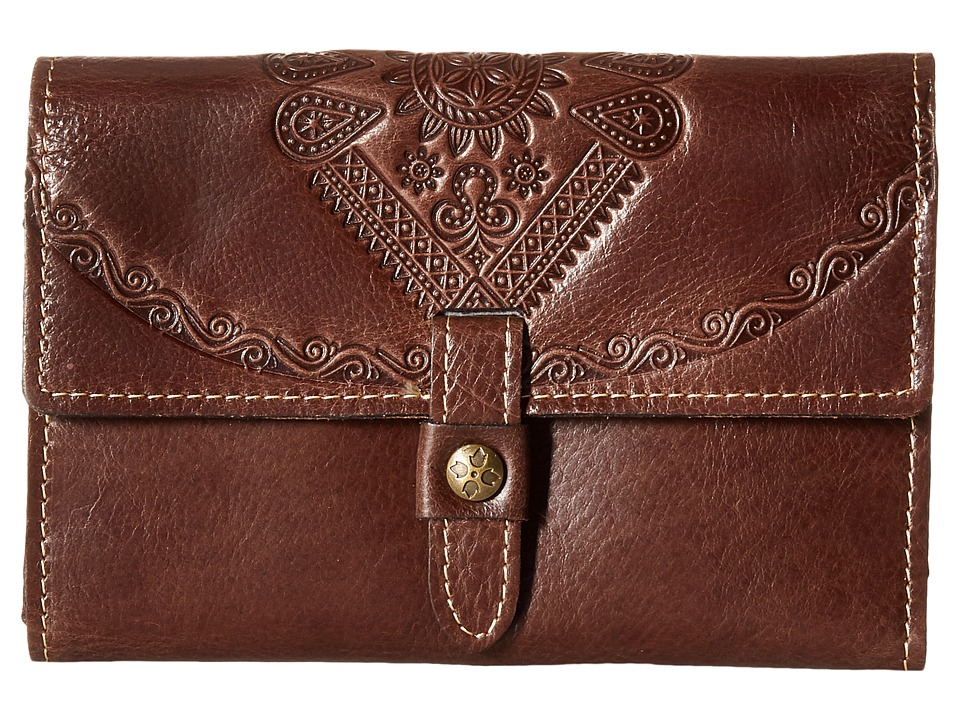 Patricia Nash - Colli Wallet (Brown) Wallet Handbags