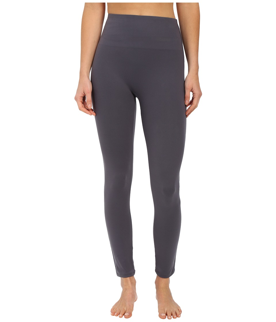 Spanx - Cut Sew Cropped Essential Leggings (Steel) Women's Clothing