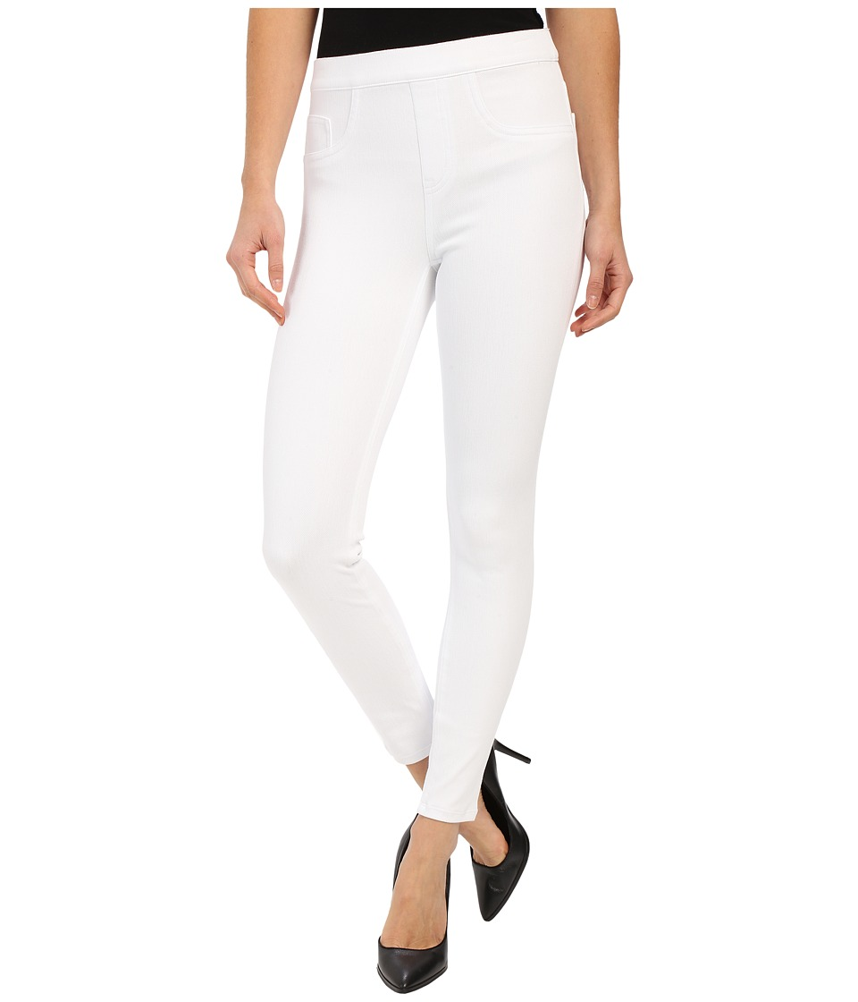 Spanx - Cut Sew Cropped Indigo Knit Leggings (White) Women's Clothing