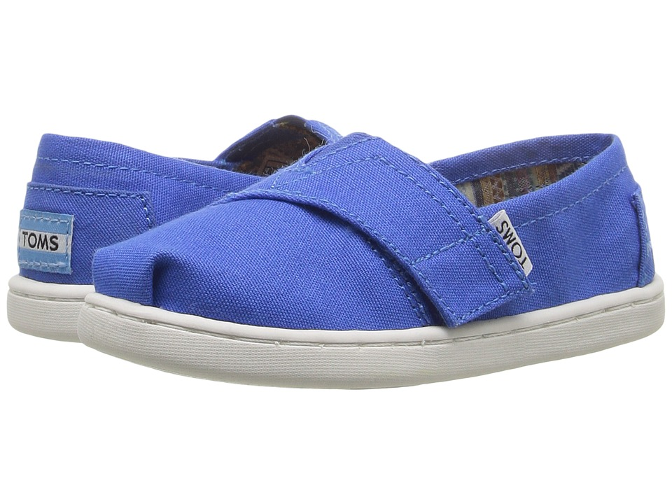 TOMS Kids - Seasonal Classics (Infant/Toddler/Little Kid) (Turkish Blue Canvas) Kids Shoes
