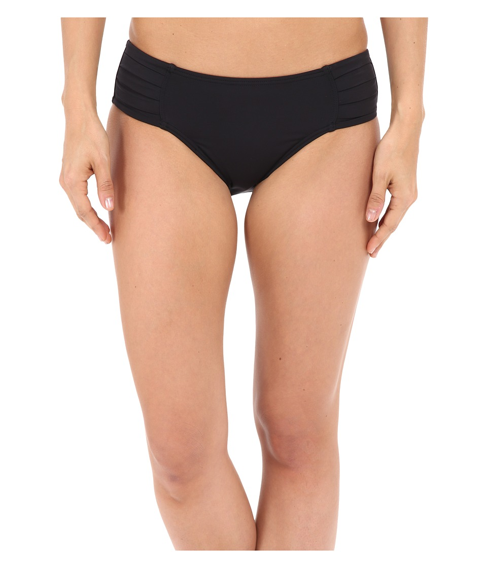 Tommy Bahama - Pearl Pleated High Waist Pants (Black) Women's Swimwear
