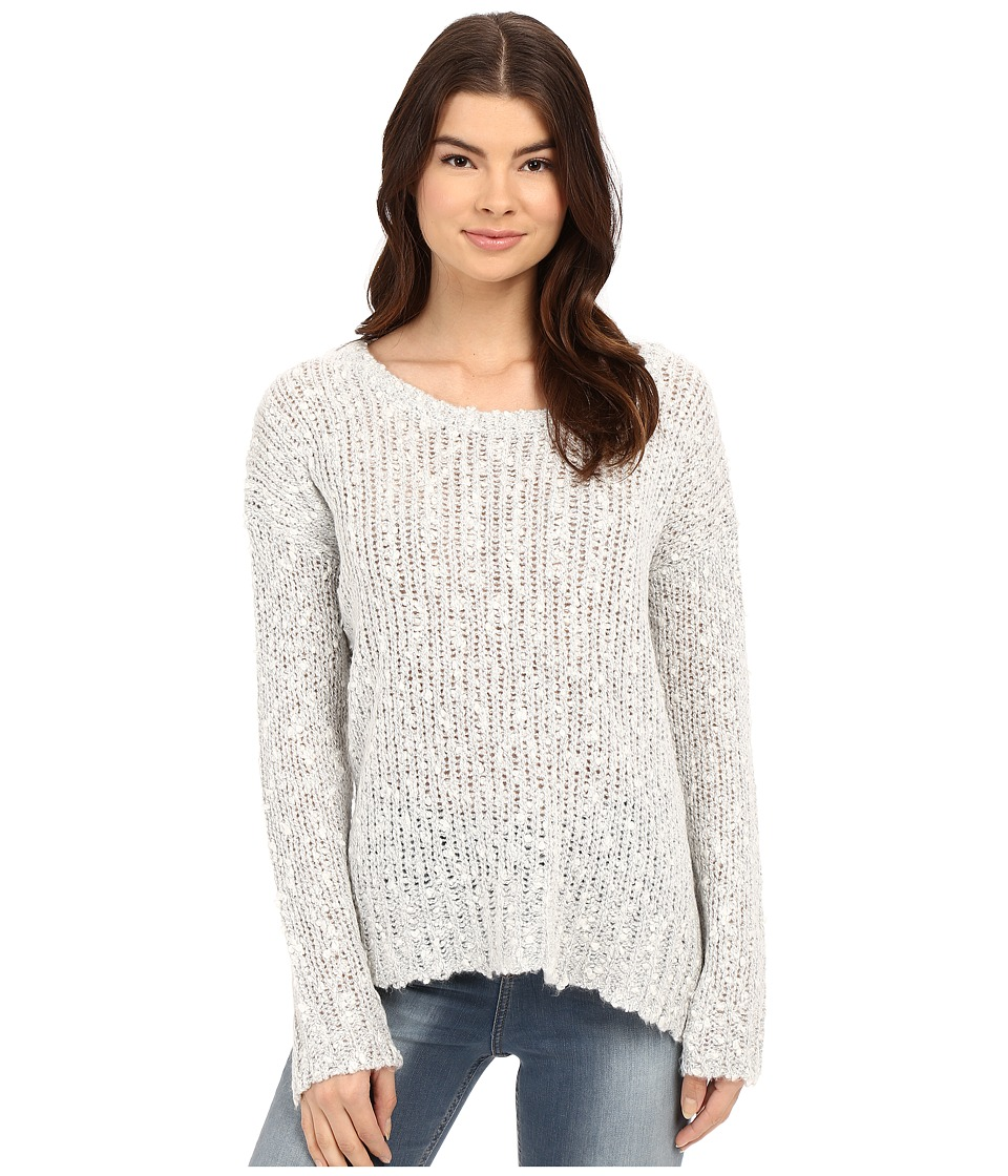 Billabong - Just Because Sweater (Ice Athletic Grey) Women's Sweater