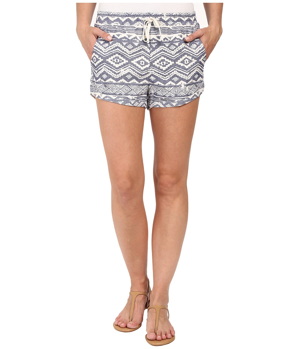 Billabong - Road Trippin Print Shorts (Blue Cruz) Women's Shorts