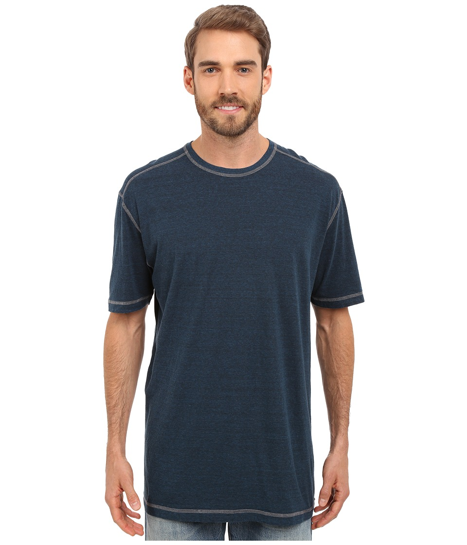 Agave Denim - Albion Short Sleeve Crew (Blue Wing Teal) Men's Short Sleeve Pullover