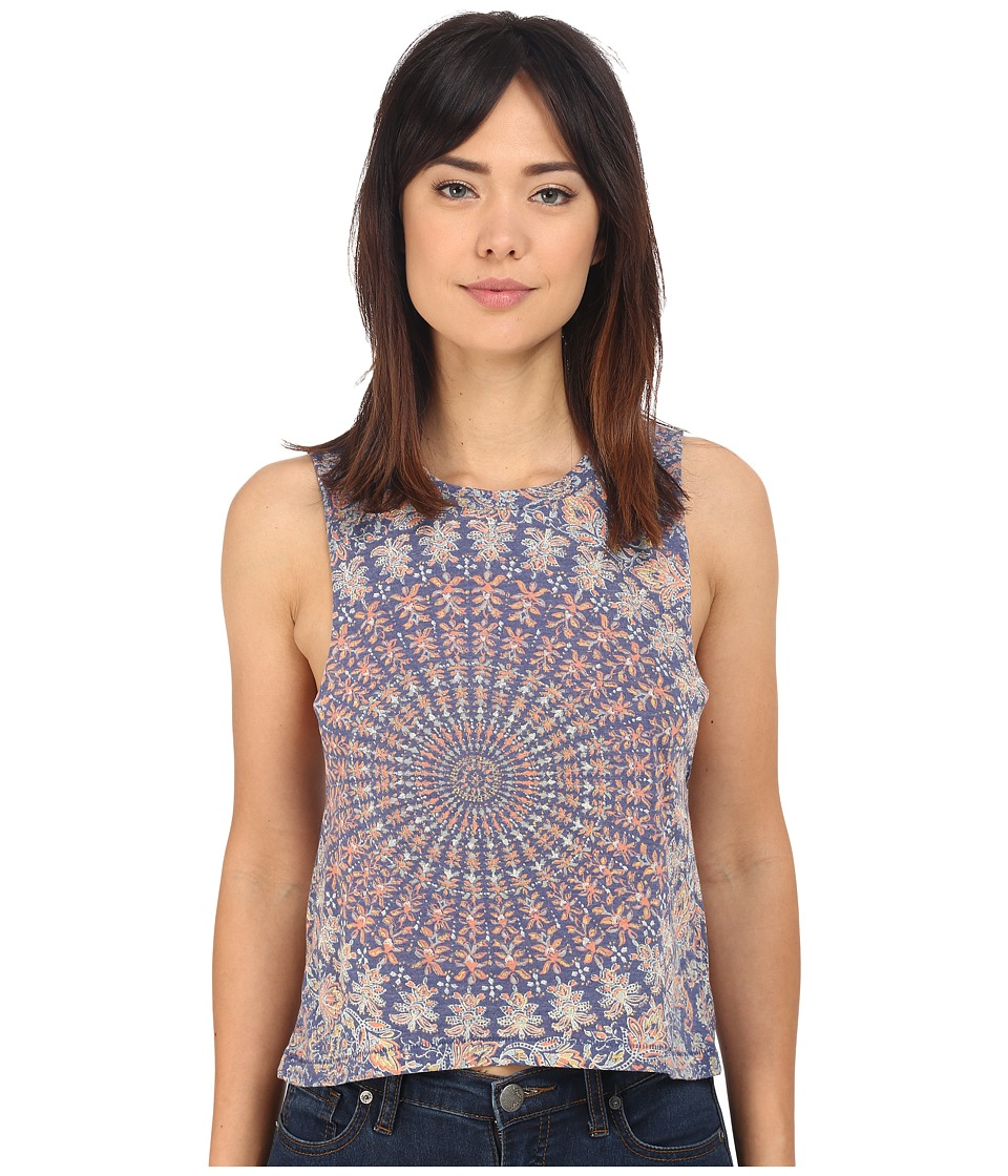 Billabong - Time Wasted Top (Blue Cruz) Women's Sleeveless