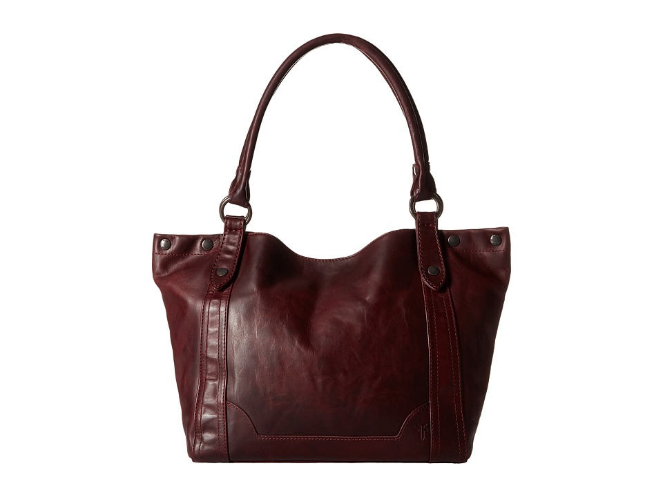 Frye - Melissa Shoulder (Wine) Shoulder Handbags