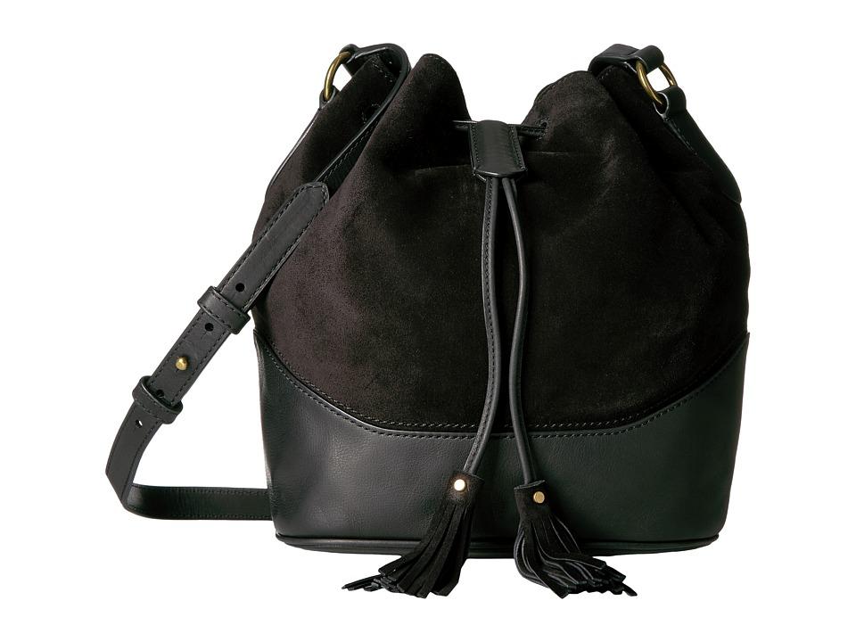 Frye - Paige Drawstring (Black) Drawstring Handbags