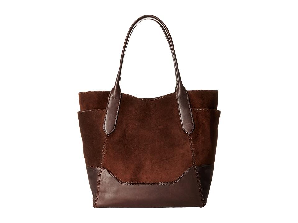 Frye - Paige Shoulder (Dark Brown) Shoulder Handbags