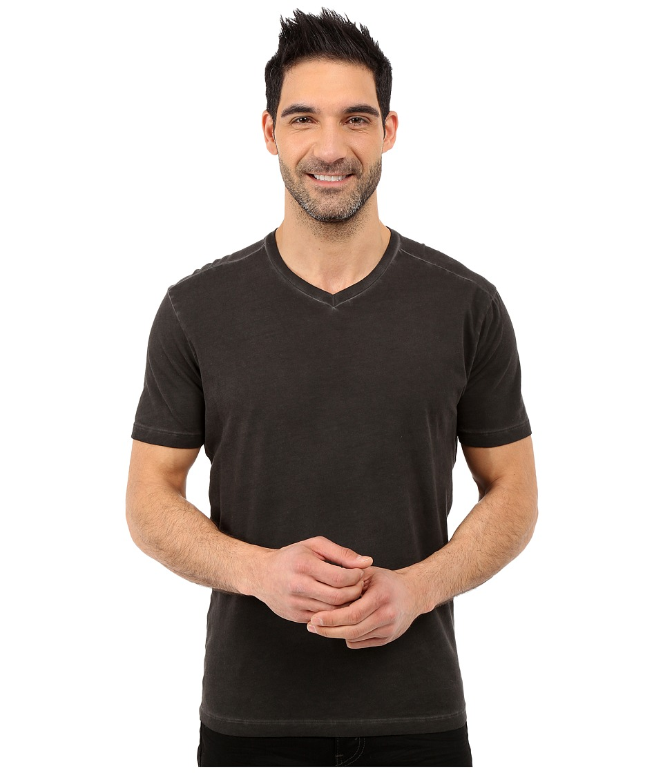 Agave Denim - Weber Short Sleeve V-Neck Antique (Anthracite) Men's Short Sleeve Pullover