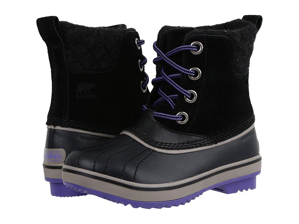 SOREL Kids - Slimpack II Lace (Little Kid/Big Kid) (Black/Kettle) Girls Shoes