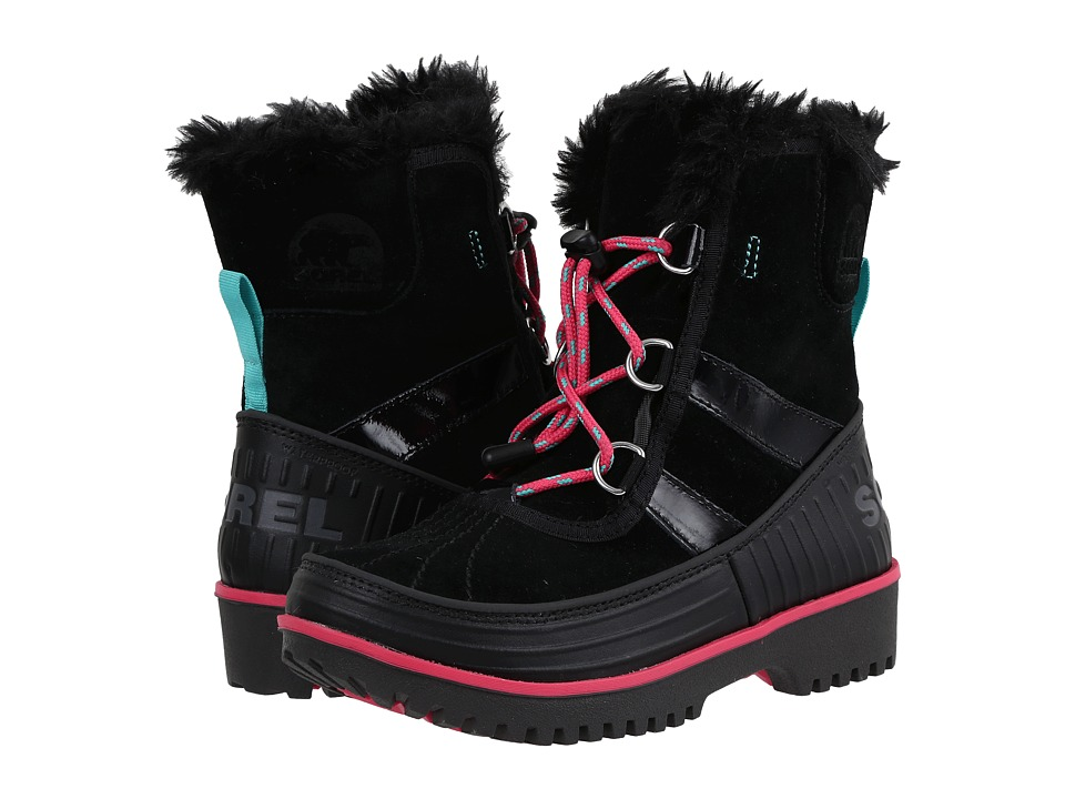 SOREL Kids - Tivoli II (Little Kid/Big Kid) (Black/Dark Grey) Girls Shoes