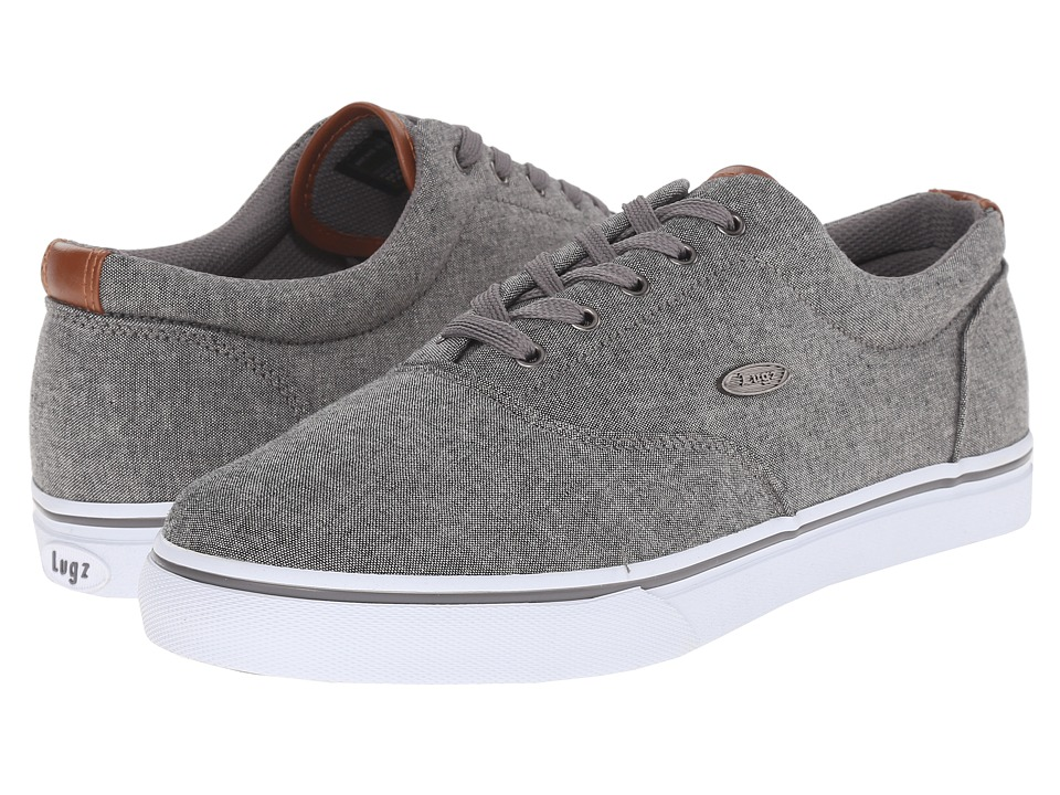 Lugz - Vet Chambray (Charcoal/Cymbal/White) Men's Shoes