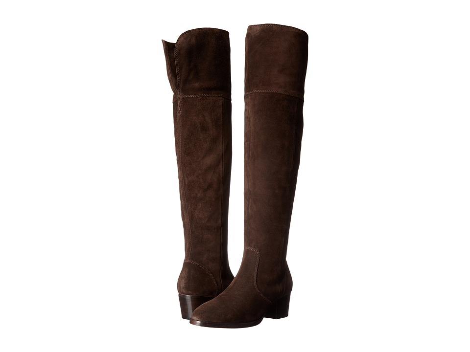 Frye - Clara Over-The-Knee (Chocolate Oiled Suede) Women's Boots