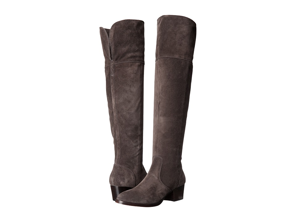 Frye - Clara Over-The-Knee (Smoke Oiled Suede) Women's Boots