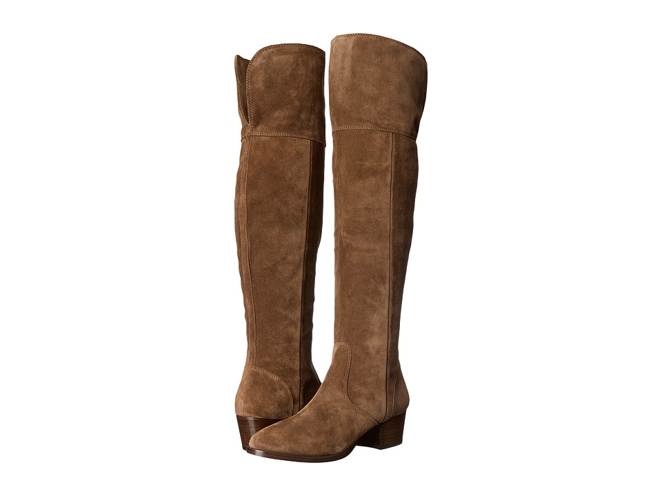 Frye - Clara Over-The-Knee (Cashew Oiled Suede) Women's Boots