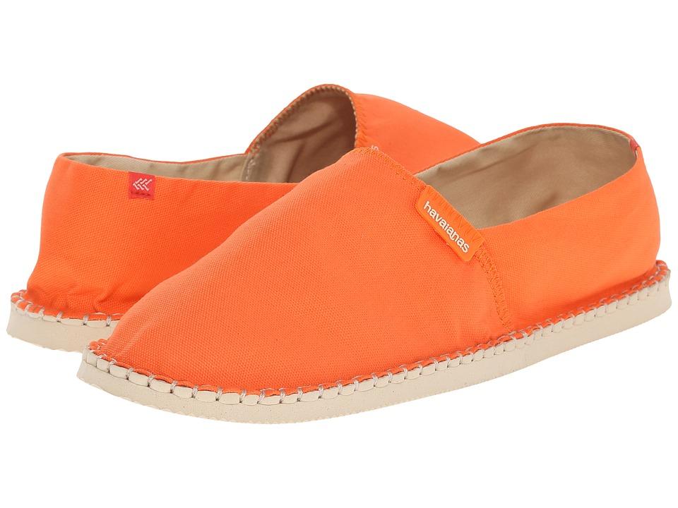 Havaianas - Origine II Flip Flops (Tangerine) Men