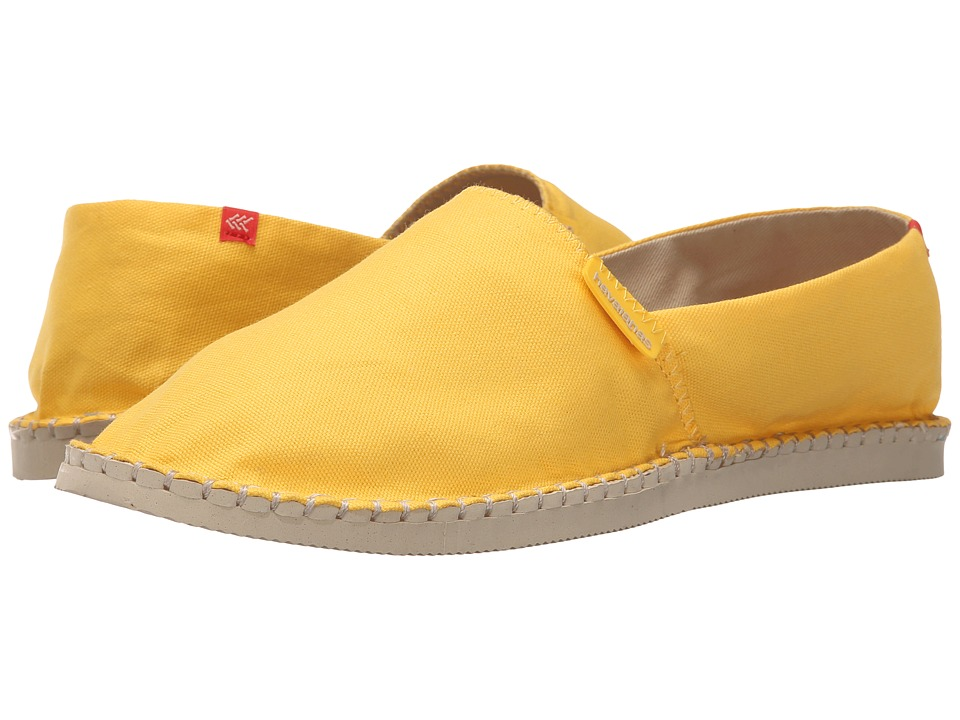 Havaianas - Origine II Flip Flops (Yellow Yolk) Men's Sandals