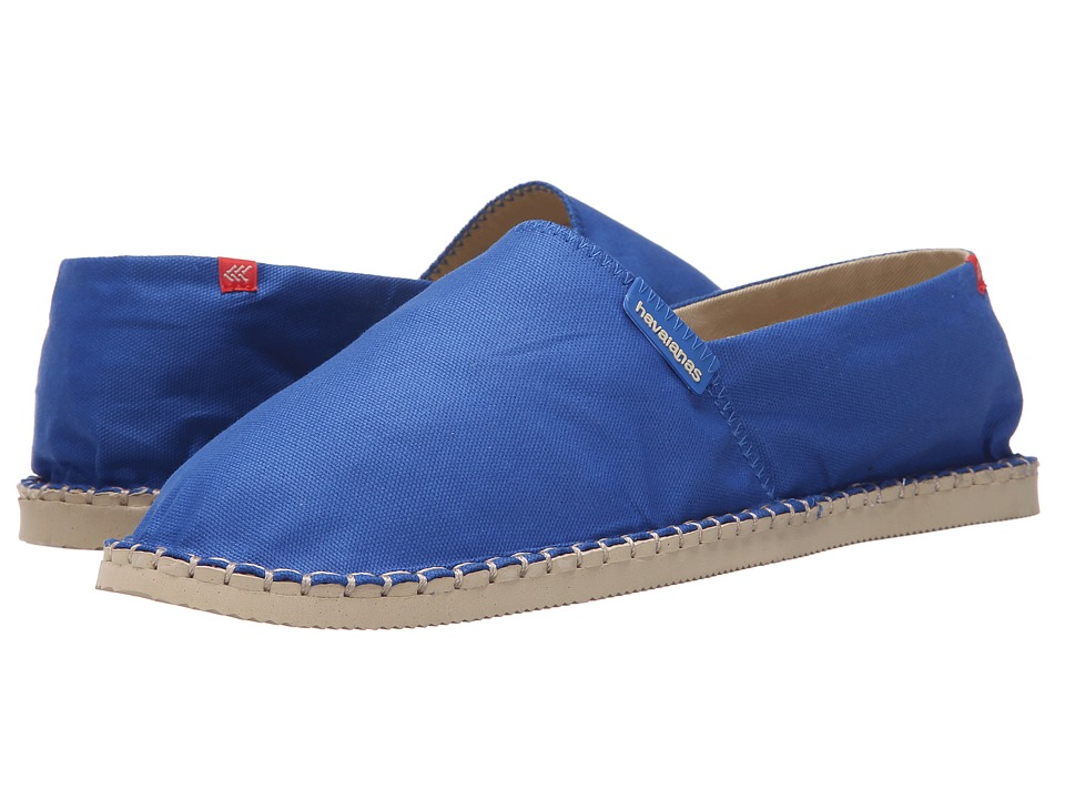 Havaianas - Origine II Flip Flops (Blue Star) Men's Sandals