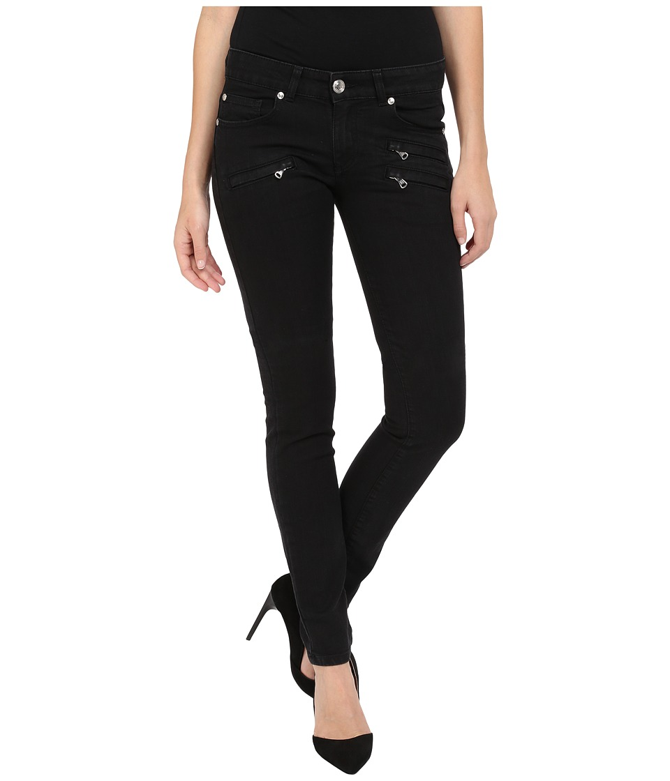 Pierre Balmain - Classic Zip Pocket Jeans (Black) Women's Jeans