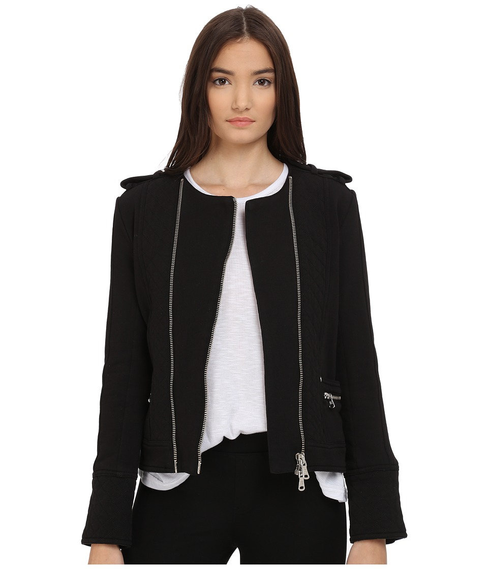 Pierre Balmain - Summer Sip Jacket (Black) Women's Coat