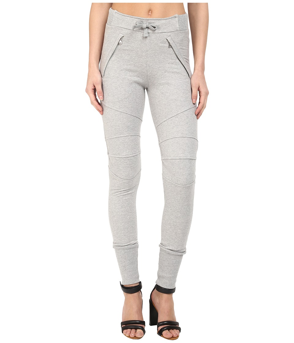 Pierre Balmain - Biker Sweatpants (Grey Melange) Women's Casual Pants