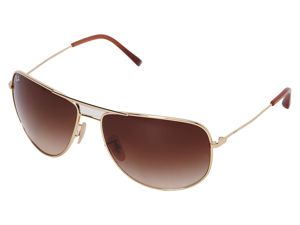 Ray-Ban - 0RB3468L (Arista/Brown Gradient) Fashion Sunglasses