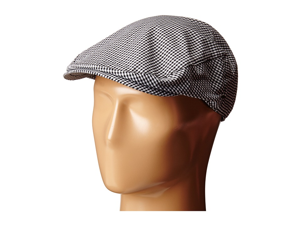 Bailey of Hollywood - Marken (Black/White Gingham) Caps
