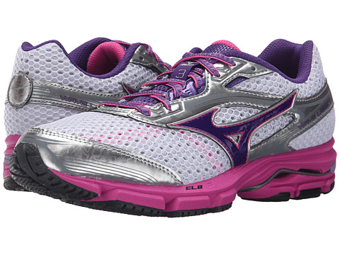 Mizuno - Wave Legend 3 (White/Gentian Violet) Women's Shoes