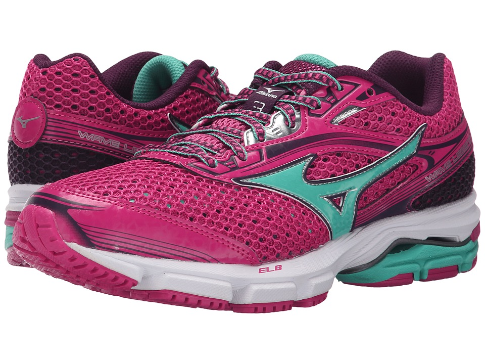 Mizuno - Wave Legend 3 (Fuchsia Purple/Waterfall) Women