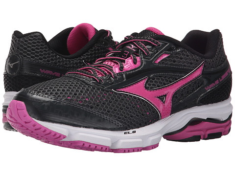 Mizuno - Wave Legend 3 (Dark Shadow/Phlox Pink) Women