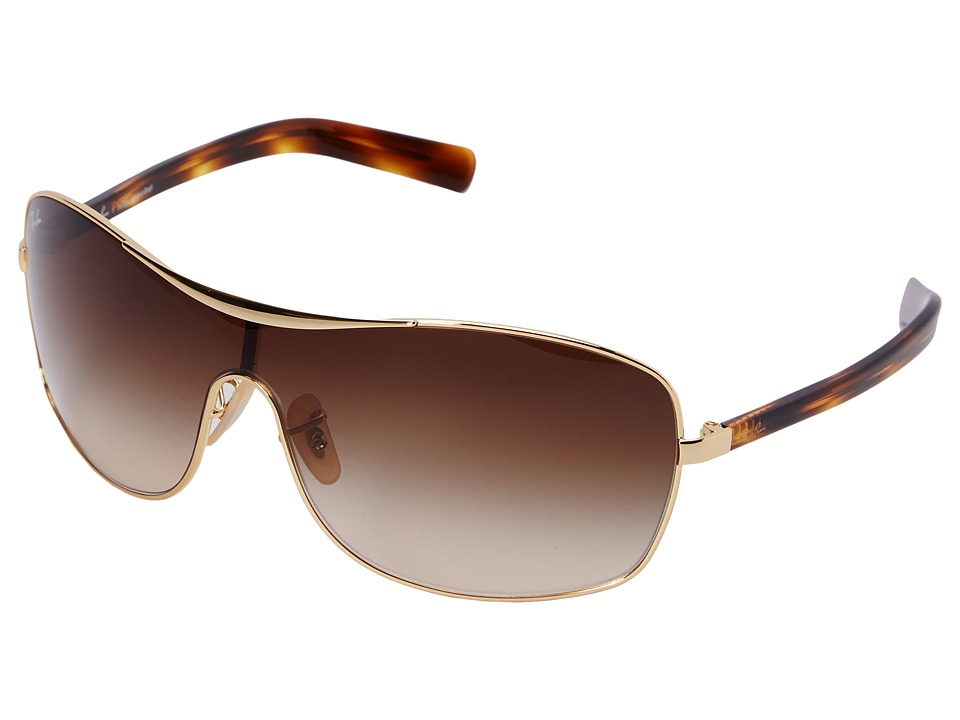 Ray-Ban - 0RB3469L (Arista/Brown Gradient) Fashion Sunglasses
