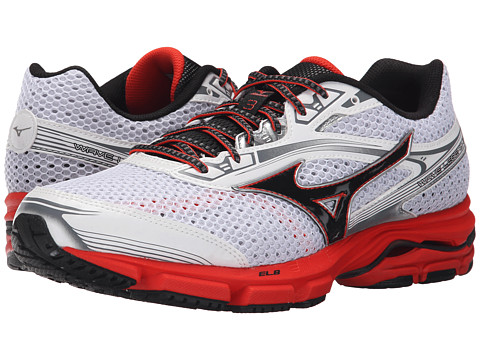 Mizuno - Wave Legend 3 (White/Black) Men's Shoes