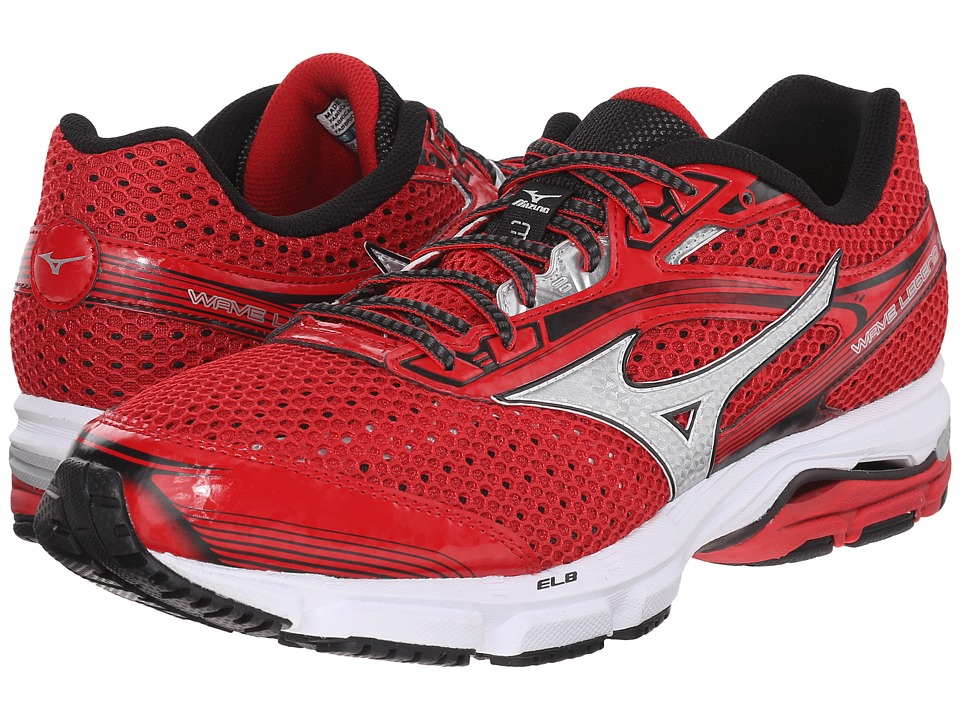 Mizuno - Wave Legend 3 (Shin Red/Silver) Men