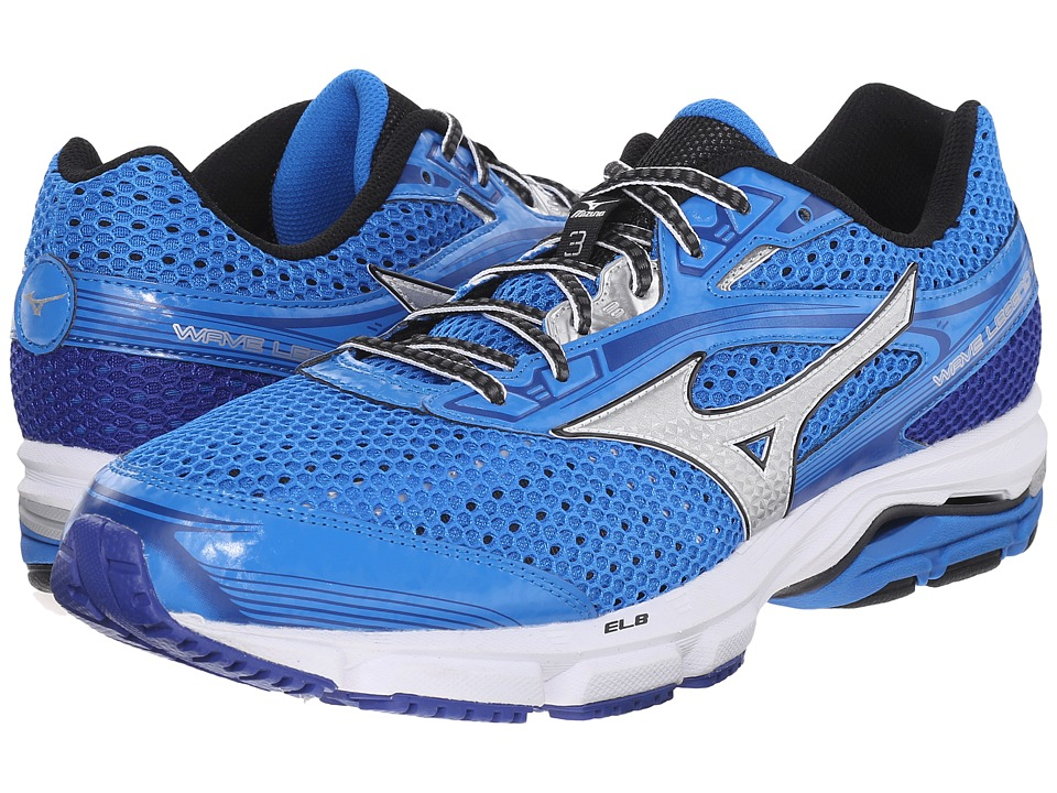 Mizuno - Wave Legend 3 (Electric Blue Lemonade/Silver) Men's Shoes
