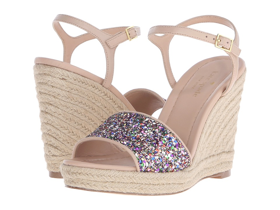 Kate Spade New York Jaden (Multi Glitter/Natural Nappa) Women