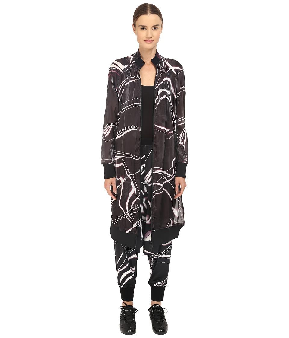 adidas Y-3 by Yohji Yamamoto - W Aop Bomber (Aop Lightning) Women's Coat