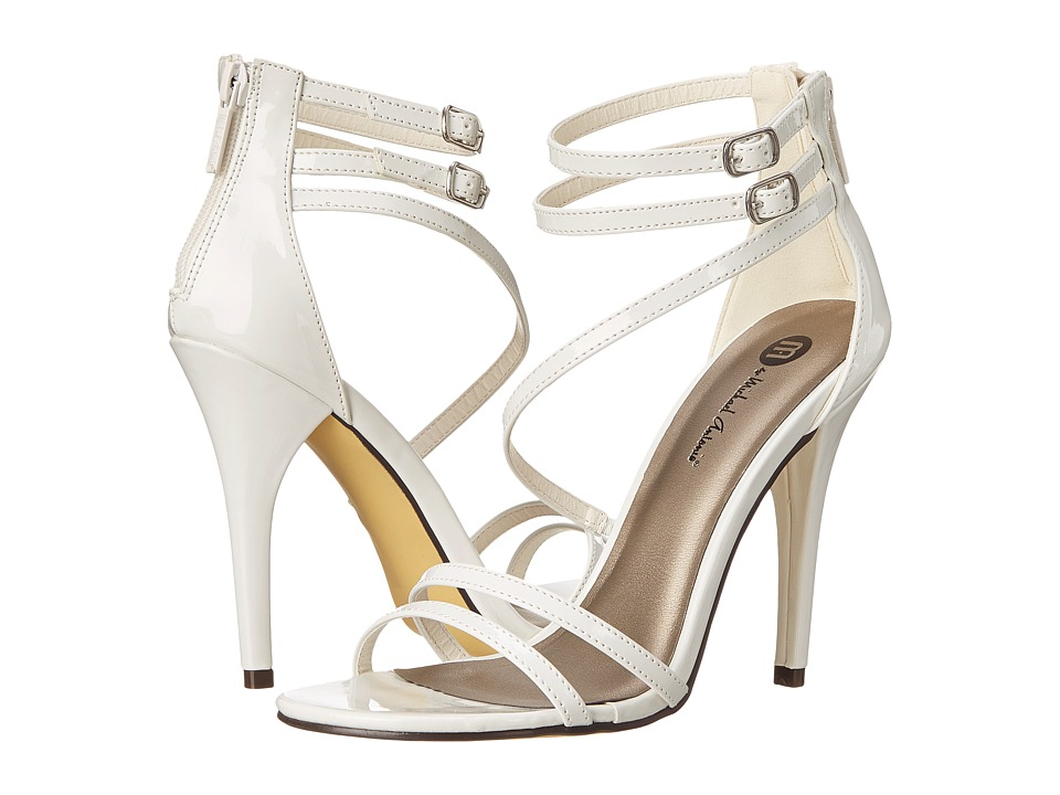 Michael Antonio - Jovan - Patent (White) Women's Shoes