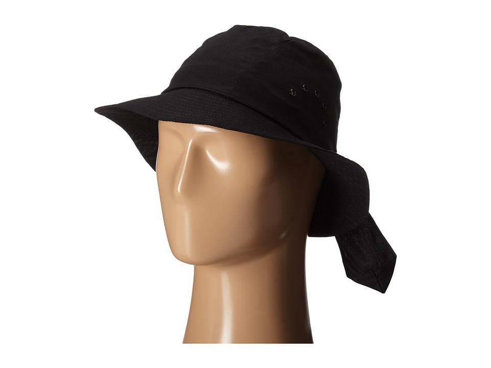 Betmar - Knotted Cloche (Black) Caps
