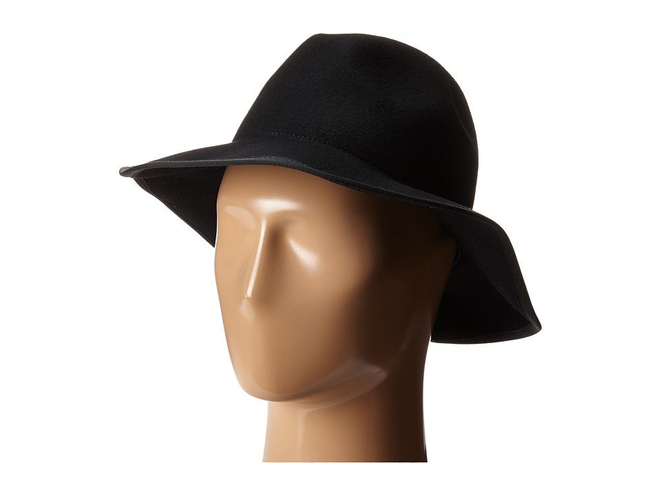 Karen Kane - Litefelt Fedora (Black) Fedora Hats