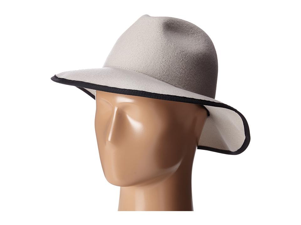 Karen Kane - Litefelt Fedora (Sand) Fedora Hats