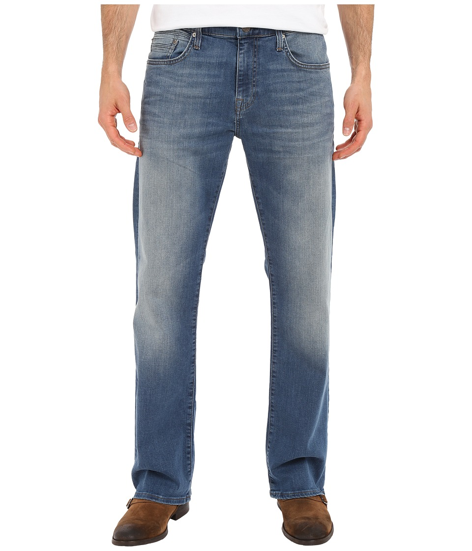 Mavi Jeans - Josh Bootcut Fit in Mid Shaded Williamsburg (Mid Shaded Williamsburg) Men's Jeans