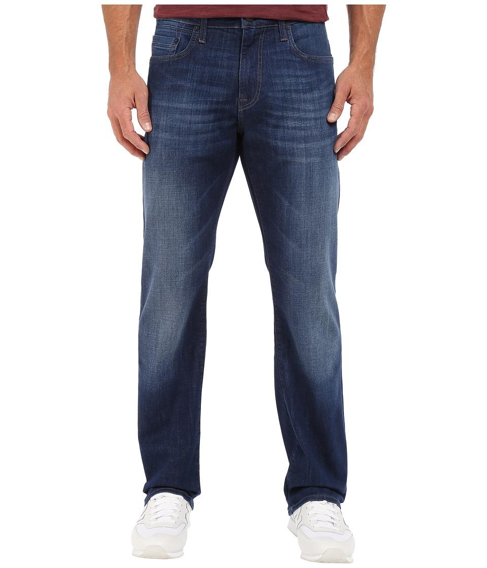 Mavi Jeans - Matt Mid-Rise Relaxed Fit in Dark Portland (Dark Portland) Men's Jeans